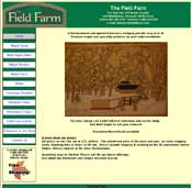 [Image as Link: screenshot of the Field Farm website, May 2006]